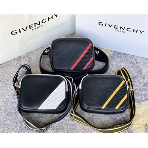 Givenchy LOGO colorblock diagonal shoulder bag camera bag