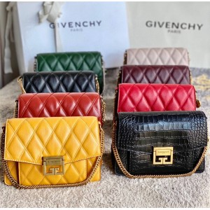 Givenchy handbags in rhombic sheepskin small GV3 chain bag