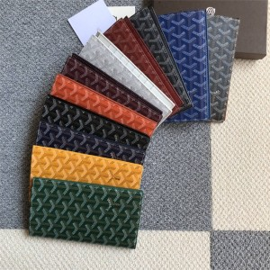 Goyard new long-distance ticket book passport folder two fold wallet