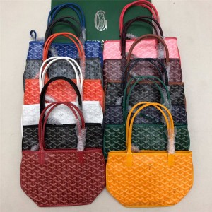 Goyard new female bag Anjou double-sided mini shopping bag