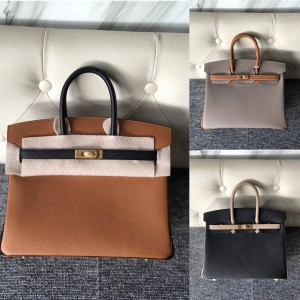 Hermes official website classic birkin 25cm Epsom handbag