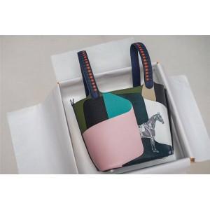Hermes togo epsom goatskin picotin graffiti handbag