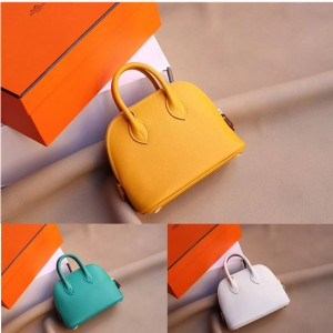 Hermes official website Bolide mini Evercolor bowling bag
