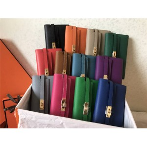 hermes official website women's long Epsom leather Kelly wallet
