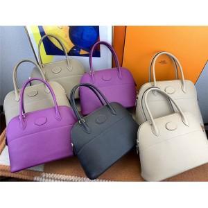 hermes Bolide Epsom 27 handbag bowling bag shell bag