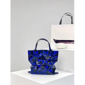 BAOBAO ISSEY MIYAKE mirror color matching 6-cell rhombus bag six-cell handbag
