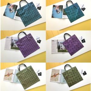 Issey Miyake matte frosted magic gradient handbag
