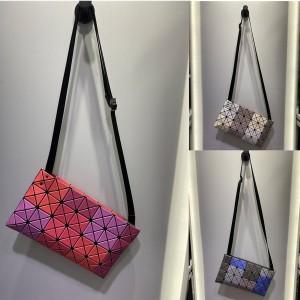 Issey Miyake BaoBao official website color block crossbody bag