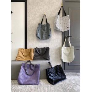 Issey Miyake CART small checkered tote bag handbag shopping bag
