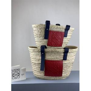 Loewe New Straw Woven Vegetable Basket Bag Basket Handbag
