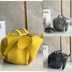 LOEWE new leather elephant bag single shoulder messenger bag
