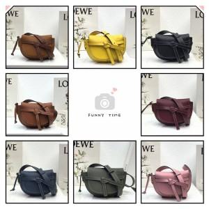 LOEWE new Gate Bumbag saddle waist bag chest bag