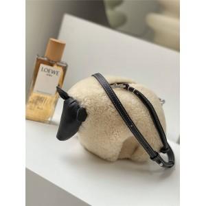 LOEWE new mini sheep leather and cow leather sheep bag