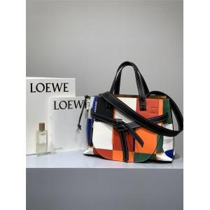 LOEWE stitching leather Gate top handle shoulder bag