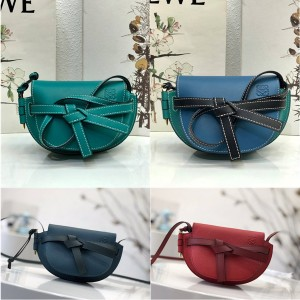 LOEWE official website women's bags new MINI GATE handbags