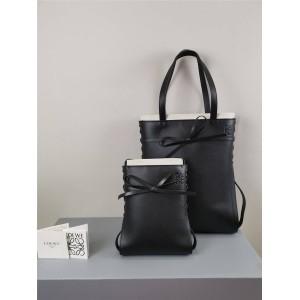 LOEWE Bow Cow Leather Ikebana Tote Bag