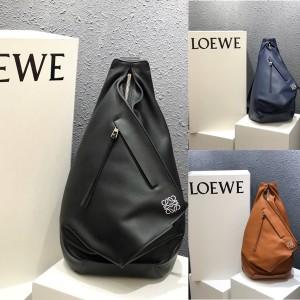 LOEWE Calfskin Anton Backpack Triangle Bag Crossbody Bag