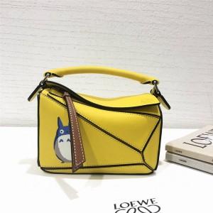 LOEWE New Totoro series MINI Puzzle handbag