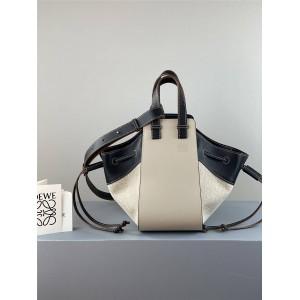 LOEWE official website new small color-blocking Hammock handbag