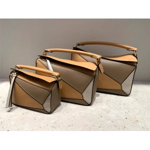 loewe new bag lady geometric stitching Puzzle handbag