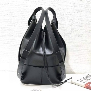loewe official website new leather Balloon backpack