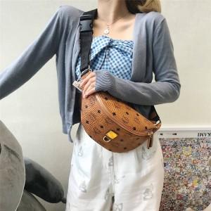 mcm new Fursten Visetos waist bag chest bag