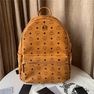mcm tark side studs medium backpack in Visetos