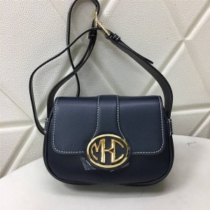 Michael Kors mk new leather flap one-shoulder diagonal saddle bag