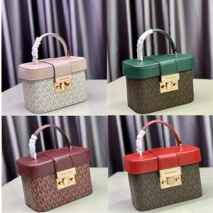 Michael Kors mk new female bag old flower Trunk small box bag