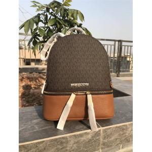 Michael Kors mk new Rhea Zip medium old flower color matching backpack