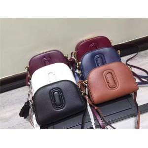Marc Jacobs MJ handbags shutter camera leather camera bag