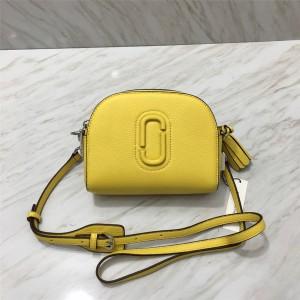 Marc Jacobs MJ lychee skin shutter camera tassel saddle bag