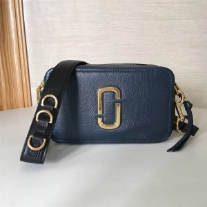 Marc Jacobs MJ lychee The Softshot 27 double zip camera bag