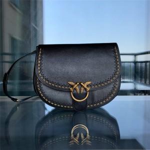 pinko large BUBBLES GO-ROUND SOFT handbag saddle bag