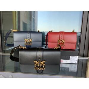pinko large badge ICON SIMPLY with shoulder strap LOVE handbag
