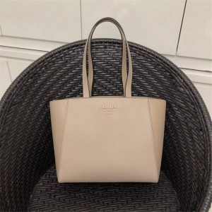PRADA official website women bag new leather shopping bag 1BH288