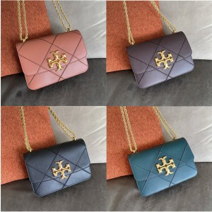 tory burch TB official website goat leather large ELEANOR chain bag