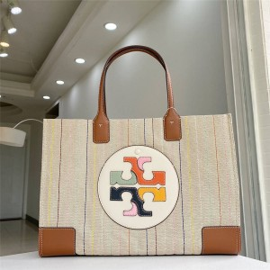 tory burch TB new ELLA MULTI-STITCH TOTE shopping bag