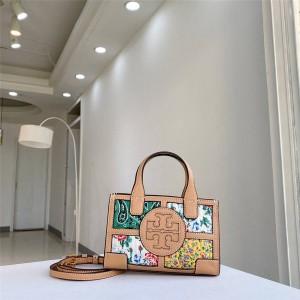 tory burch TB ELLA MICRO TOTE mini printed shopping bag