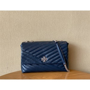 tory burch TB official website KIRA oil wax leather large chain bag