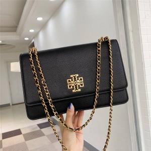 tory burch TB official website handbags large Britten flap chain bag