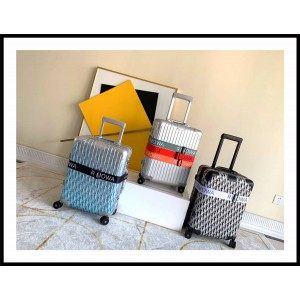 Rimowa trolley case Dior aluminum magnesium alloy 20 inch boarding case