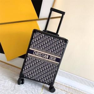 Rimowa trolley case DIOR oblique presbyopia 20 inch boarding