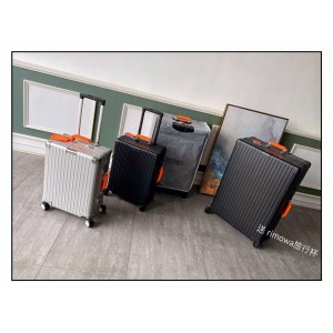 Rimowa x AMBUSH aluminum magnesium alloy classic series trolley case luggage case
