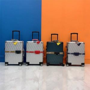 Rimowa FENDI alloy logo sticker board case luggage case trolley case