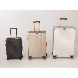 rimowa AMBUSH Classic aluminum suitcase trolley case