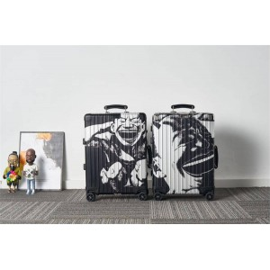 RIMOWA official website check-in case Yue Minjun portrait trolley case