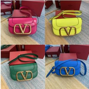 Valentino official website large SuperVee calfskin crossbody bag