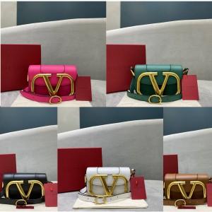 Valentino LOGO SuperVee small organ crossbody bag