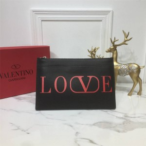 Valentino official website new Tanabata Valentine's Day print clutch
